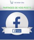 Acheter des partages de vos posts Facebook