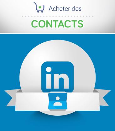 Acheter des contacts LinkedIn pour votre profil