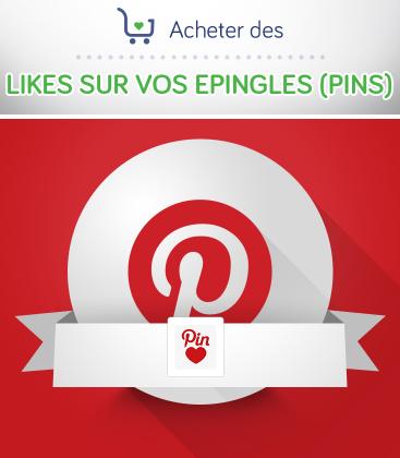 Acheter des likes sur vos épingles Pinterest
