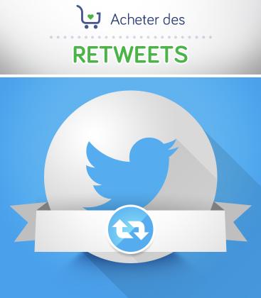 Acheter des retweets Twitter