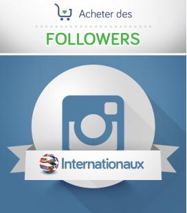 Acheter des followers Instagram internationaux