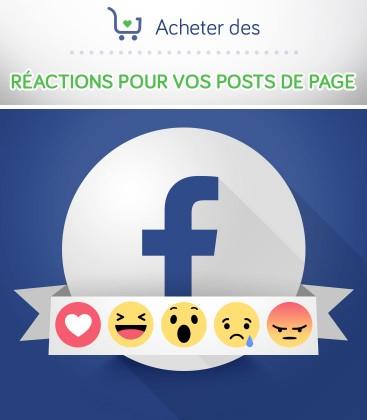 Acheter des réactions Facebook pour vos posts