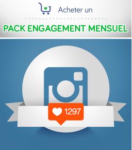 Pack Engagement Instagram Mensuel