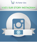 Acheter des vues pour story Instagram