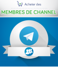 Acheter des membres pour channel Telegram
