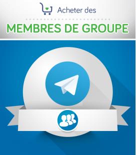 Acheter des membres pour groupe Telegram